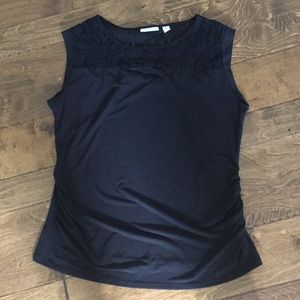 New York and Co lace tank size L
